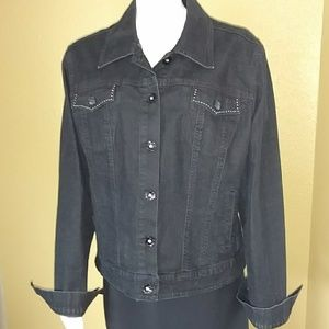 Style & Company Jeans Denim Jacket XL